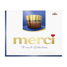 merci Finest Selection mléčná 250g