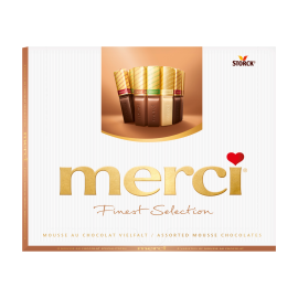 merci Finest Selection Mousse au Chocolat Variety 210g
