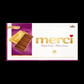 merci Tafelschokolade Praliné