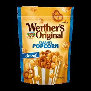 Caramel Popcorn Brezel