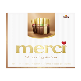 merci Finest Selection Mousse au Chocolat Vielfalt 210g