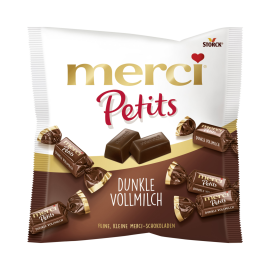 merci Petits Dunkle Vollmilch
