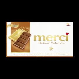 merci Tafelschokolade Nougat