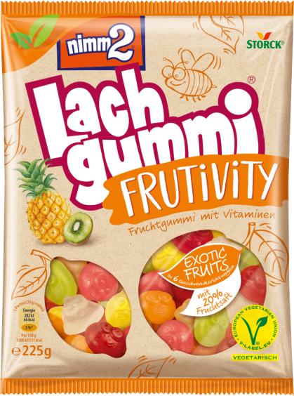 nimm2 Lachgummi Frutivity Exotic Fruits