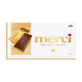 merci Chocolate Bars Coffee & Cream 100g