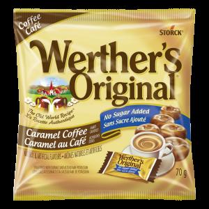 No Sugar Added Caramel Coffee Hard Candies