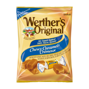 No Sugar Added Chewy Caramel Candies