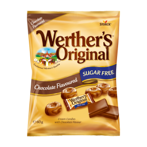 Werther's Original Sugar Free Chocolate Flavour Butter Candies
