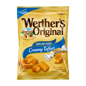 Werther's Original Sugar Free Creamy Toffees