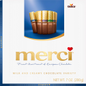 merci Assorted Milk and Creamy Chocolates Variety 7oz