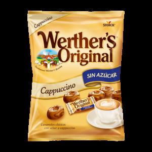 Caramelos clásicos sabor a capuccino sin azúcar