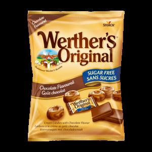 Caramelos clásicos sabor a chocolate sin azúcar