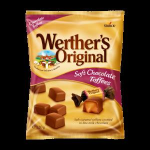 Toffees cubiertos de chocolate