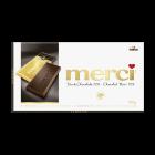merci Barres de Chocolat Noir 72% 100g