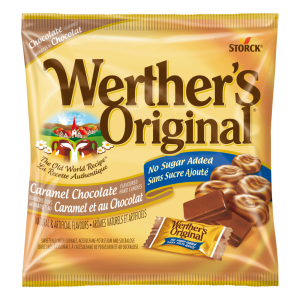 Bonbons durs au caramel au chocolat sans sucre ajouté