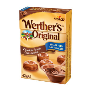 Caramels Werther's Original chocolat sans sucres