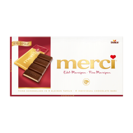 merci Táblás csokoládé - marcipános