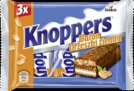 Knoppers Baton Orzeszki ziemne 3x40g