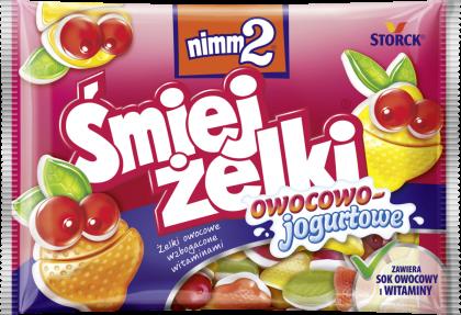 nimm2 Śmiejżelki owocowo-jogurtowe 100g