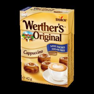 Cukierki bez cukru o smaku cappuccino