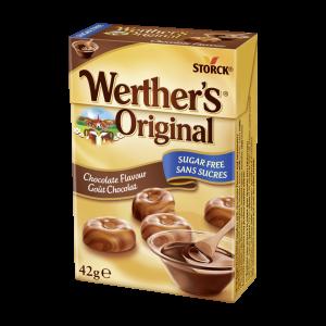 Cukierki bez cukru o smaku czekoladowym