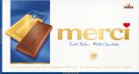 Barras de Chocolate de Leite merci