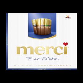 merci Finest Selection Coleção Chocolate de Leite 250g