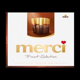 merci Finest Selection Coleção Chocolate Preto 250g