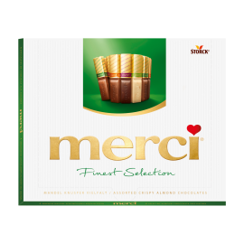merci Finest Selection Coleção Crocante de Amêndoa 250g