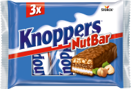 Knoppers NutBar 3x40g
