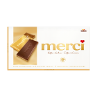 merci tabletă de ciocolată - smântână dulce și cafea 100g