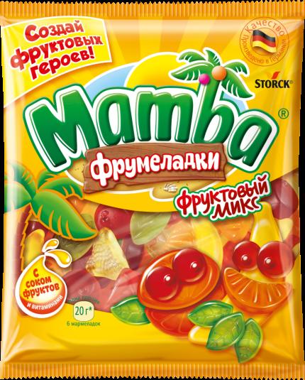 Mamba Фрумеладки «Фруктовый микс» 72г