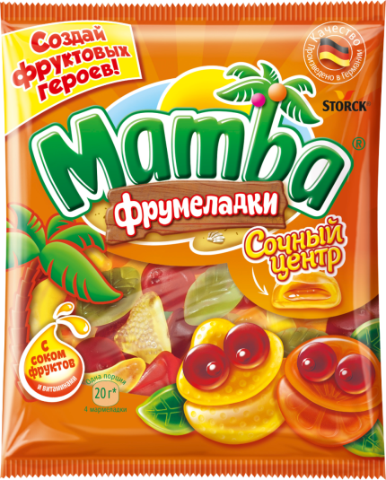 Mamba Фрумеладки «Сочный центр» 70г