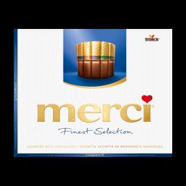Мерси конфеты Ассорти из молочного шоколада 250 г