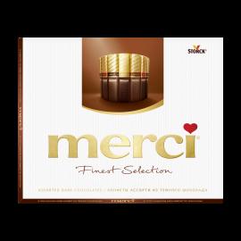 Мерси конфеты Ассорти из темного шоколада 250 г