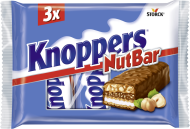 Knoppers NutBar 3 pieces