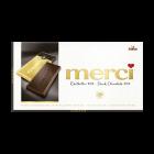 merci tabuľková čokoláda extra horká 72%