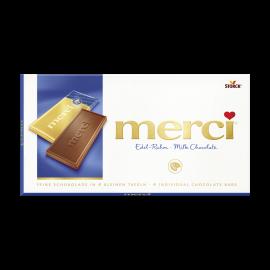 merci tabuľková čokoláda mliečna